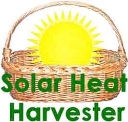 Attic solar space heating system logo